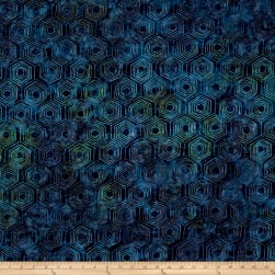 Andover A Splash of Color Batik Honeycomb Tropical