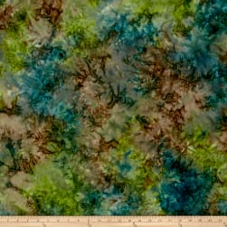 Andover A Splash of Color Batik Solid Midnight