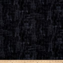Andover Brushline Black Fabric