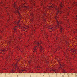 SAQA The Golden Hour Ominous Red Multi Fabric