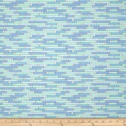 Uptown Backsplash Blue Fabric