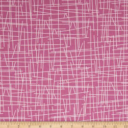 Uptown Pick-Up Sticks Pink Fabric