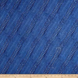 Java Garden Batiks Hairpins Blue Fabric
