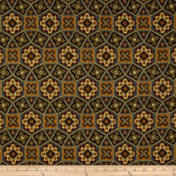 Franklin Tile Slate Fabric