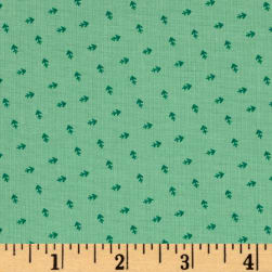 Andover Over The Rainbow Arrows Green Fabric