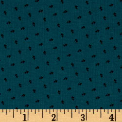 Andover Over The Rainbow Arrows Teal Fabric