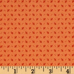 Andover Over The Rainbow Orbits Orange Fabric