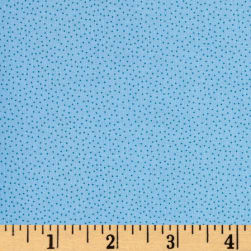 Andover Over The Rainbow Micro Dots Blue Fabric