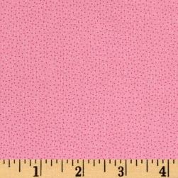 Andover Over The Rainbow Micro Dots Pink Fabric