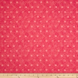 Alison Glass Sun Prints Link Taffy Pink Fabric