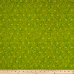 Alison Glass Sun Prints Link Pine Green Fabric