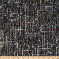 Telio Tweed Deep Grey Boucle Fabric