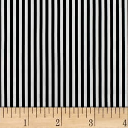 Mixology Stripes Black Fabric
