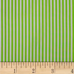 Mixology Stripes Lime Fabric
