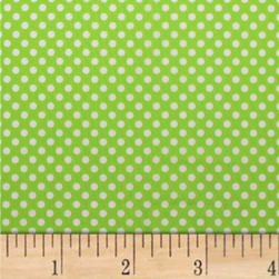 Mixology Dots Lime Fabric