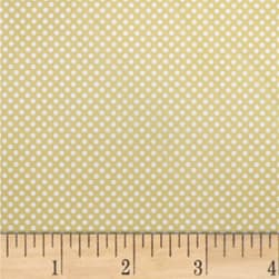 Mixology Dots Chamomille Fabric