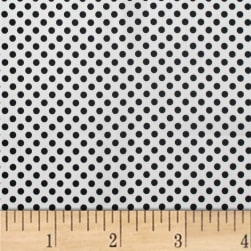 Mixology Dots Black Fabric