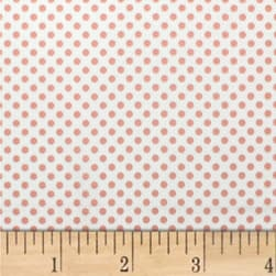 Mixology Dots Pink Chai Fabric