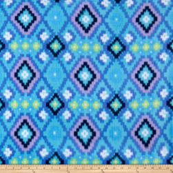 Polar Fleece Kai Blue Fabric