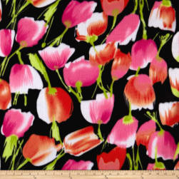 Polar Fleece Large Tulip Black