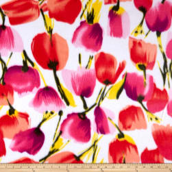 Polar Fleece Large Tulip Geranium