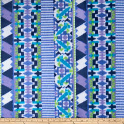 Polar Fleece Mantra Blue Fabric
