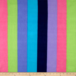 Polar Fleece New Stripe Multi Fabric