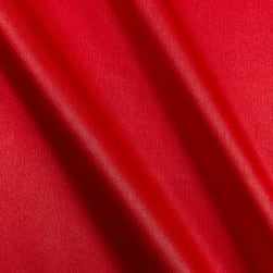 Crepe Back Satin Red Fabric