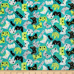 Game On Controllers Bali Fabric