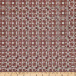 Poetic Tile Red Fabric