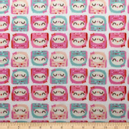 Nursery Program Flannel Owls Peony