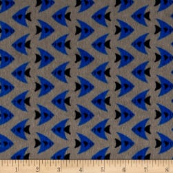 Camelot Flannel Fish Grey Fabric