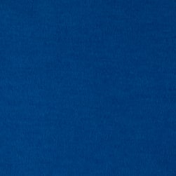 Solid Flannel Sapphire Fabric