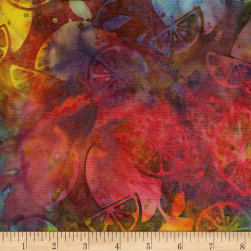 Island Batik Fresh Pick'ins Lemon Snowcone Fabric