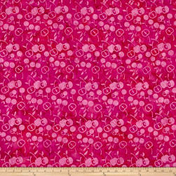 Island Batik Fresh Pick'ins Cherries Punch Fabric