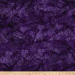 Island Batik Vineyard Pansey Blurpie Fabric