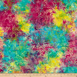 Island Batik Fresh Pick'ins Splash Tiedye Fabric