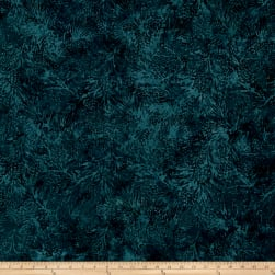 Island Batik Mountain's Majesty Pinecone Dark Lagoon Fabric