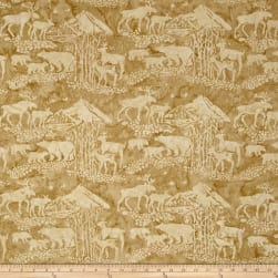 Island Batik Mountain's Majesty Critters Custard