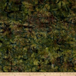 Island Batik Autumn's Grace Wheat Fairway Fabric