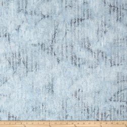Island Batik Mountain's Majesty Branches French Blue Fabric