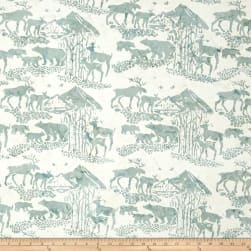Island Batik Mountain's Majesty Critters Shaved Ice Fabric