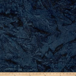 Island Batik Paisley Dot Smoke Fabric
