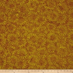 Island Batik Pumpkin Patch Sunflower Smore Fabric