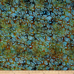 Island Batik Pumpkin Patch Acorn Dark Opal Fabric