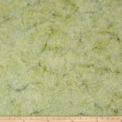 Island Batik Southern Blooms Grass Sprout Fabric