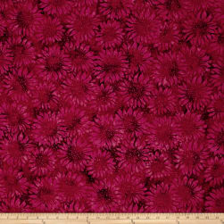 Island Batik Sunflower Seranade Sunflower Plum Fabric