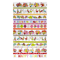 Loralie Designs Happy Camper Happy Camper Boarders White
