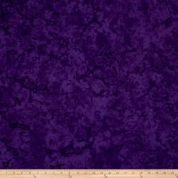 Batik Cotton Basics Purple Fabric