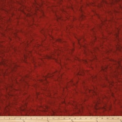 Batik Cotton Blenders Wavy Dots Cherry Fabric